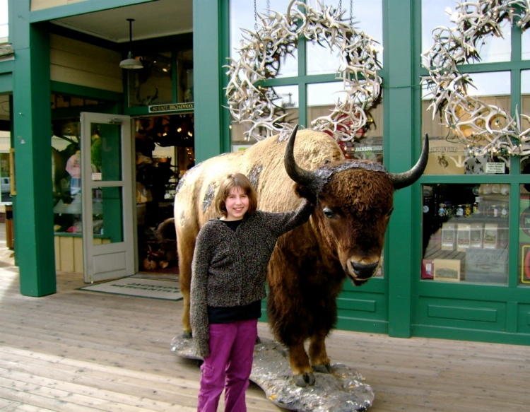 Jackson Hole (That store in back sells huckleberry gummybears)
