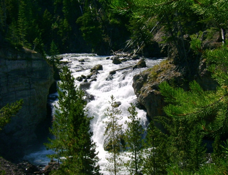 possibly Firehole Falls